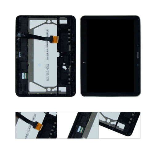 LCD Screen Digitizer Touch+Frame For Galaxy TAB 4 SM-T530NU SM-T530 US