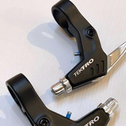 Tektro 2 Finger Brake Levers — AUS STOCK — MTB V Brakes Linear Pull Alloy