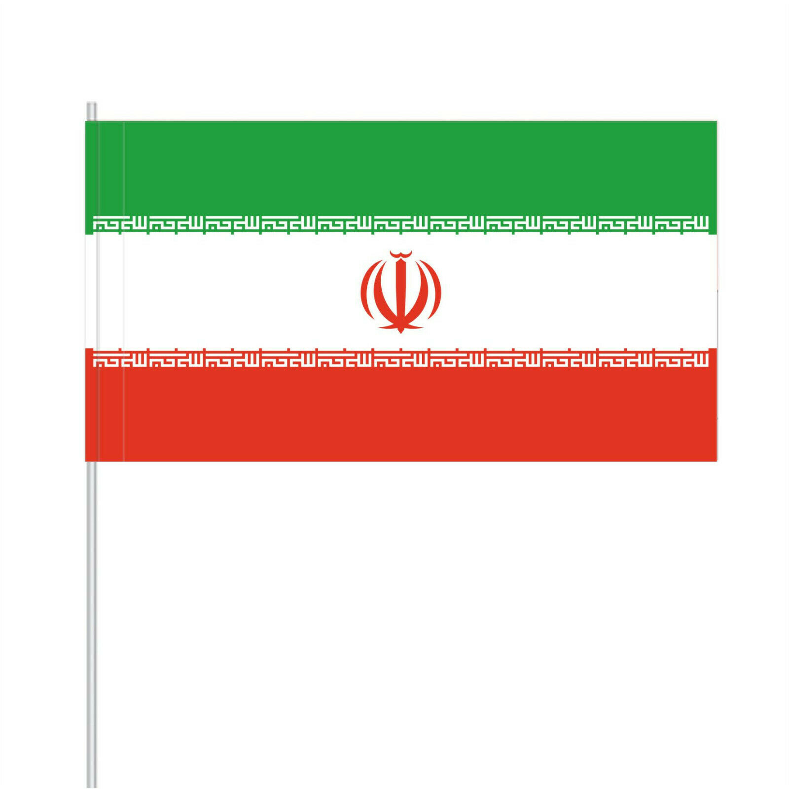 Papierfähnchen Papierfahnen Iran (Nationalflagge, Deko-Flagge)