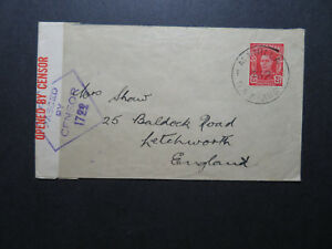 Australia-1943-Censor-Cover-to-England-Z11532