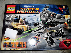 LEGO-SUPER-HEROES-Art-76003-Supermann-Battle-of-Smallville-NEU-Or-verp