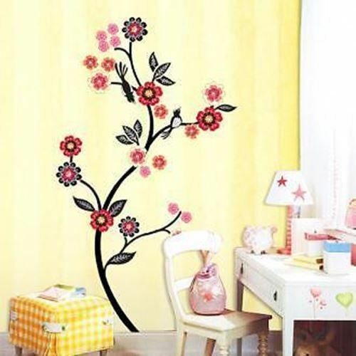 "Wall Decals Sticker FLOWER TREE 250-ECO001 /""U.S SELLER/"""