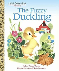 The-Fuzzy-Duckling-Little-Golden-Book-by-Jane-Werner-Watson