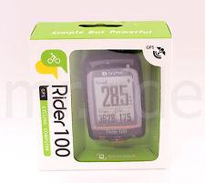 Bryton Rider 100E GPS Bicycle Riding/Cycle Computer/Mount/Wireless Bike Black