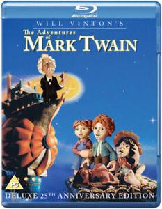 The-Adventures-of-Mark-Twain-Blu-ray-2011-Will-Vinton-NEW-Gift-Idea