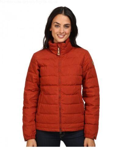 L Retail $325 Fjallraven Ovik Lite Jacket # 89932 215 Autumn Leaf Women SZ S