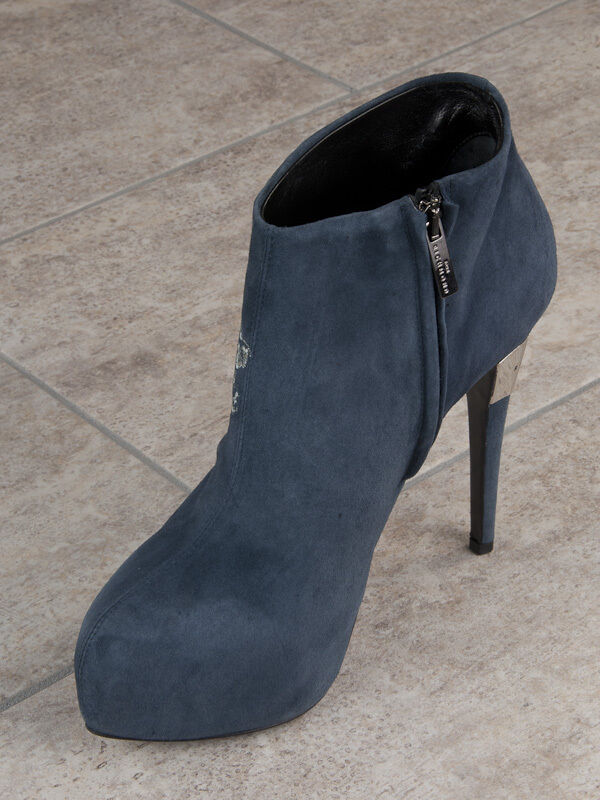 John Suede Richmond Suede John Italian Bootie New Collection Blau c06dc7