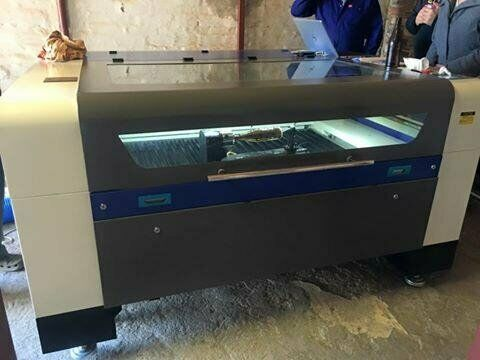 130w Laser cutter and Engraver - 1.3m x 900mm bed size - FULL SUPPORT