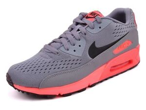 low priced 3935e a187a Image is loading NIKE-AIR-MAX-90-PREMIUM-COMFORT-EM-Grey-