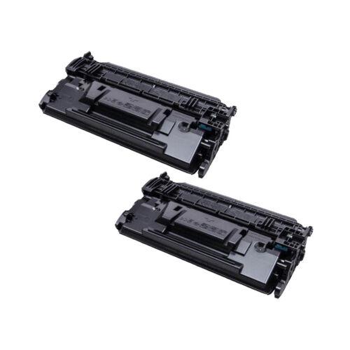2PK Black CF287X 87X Toner Cartridges for HP LaserJet Enterprise M506 MFP M527