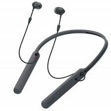Sony C400 In-ear fones de ouvido fones de ouvido Bluetooth Headset Microfone Alça De Pescoço, Preto