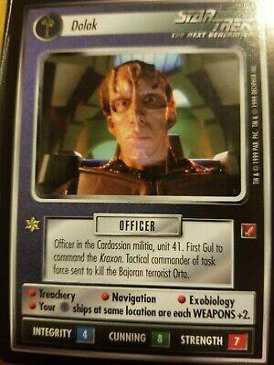 Star Trek CCG Blaze of Glory Commandeer Ship NrMint-Mint TCG