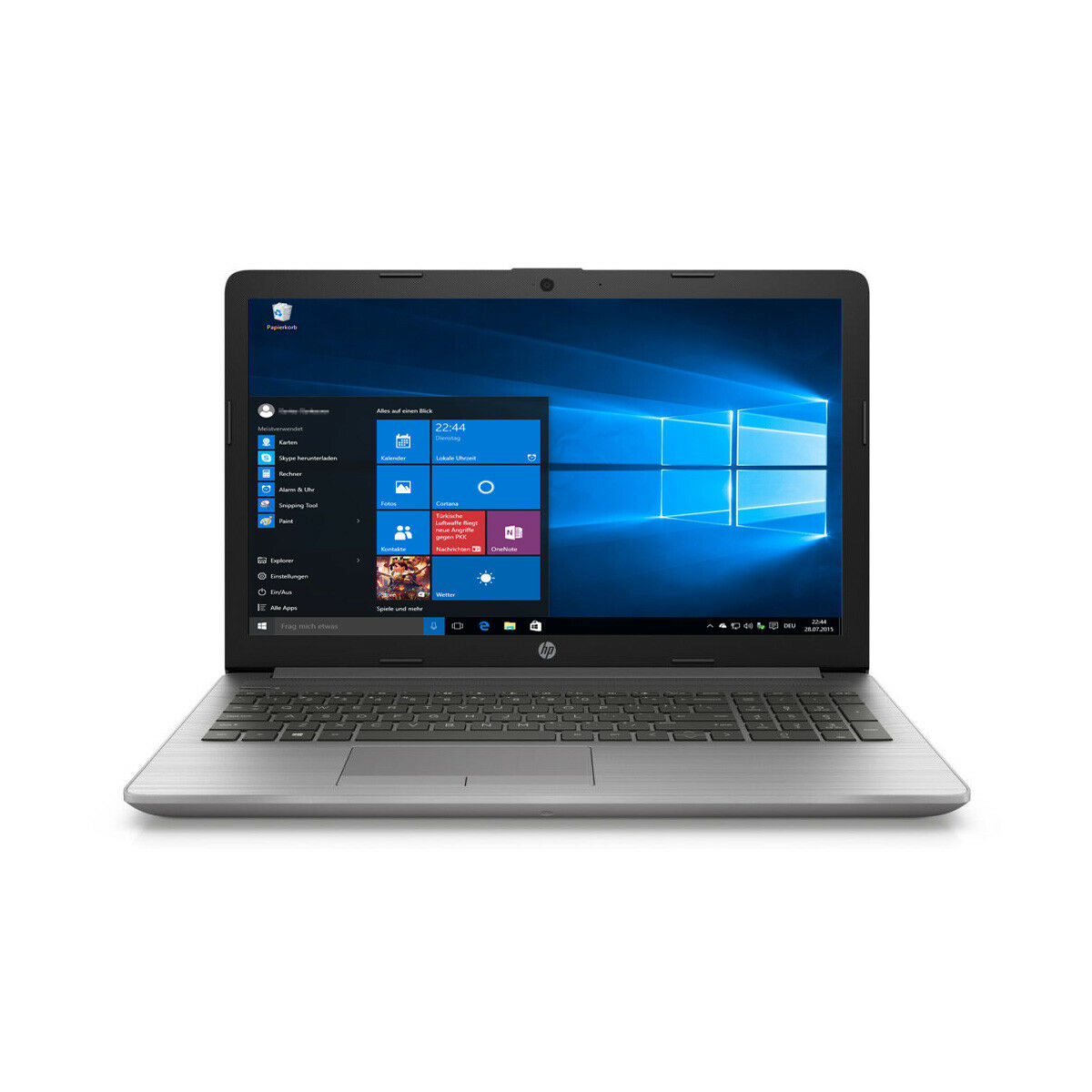 Notebook HP 250 G7 Intel Dual Core 2,6GHz 4GB - 128GB SSD Windows 10 Intel HD