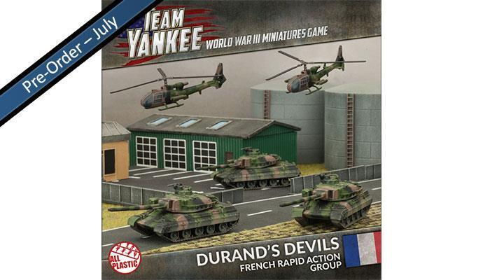 DURAND'S DEVILS - TEAM YANKEE - FRENCH - NATO - TFRAB1