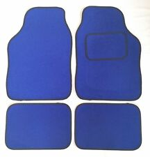 BLUE TAPPETINI AUTO Nero Trim per Smart forum Forfour Roadster Coupe