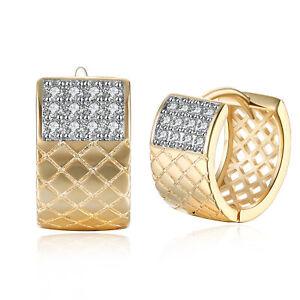 18K-Gold-Plated-Zirconia-Hollow-Square-Hoop-Huggie-Earrings-Women-Jewelry-Gifts