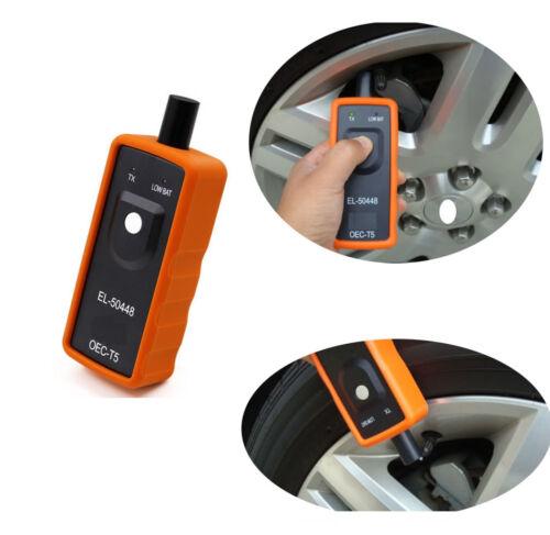 TPMS Reset Tool EL-50448 Car Tire Pressure Monitor Sensor OEC-T5 For GM Vehicle