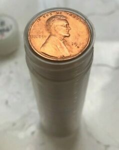 1946-S-Lincoln-Wheat-Cent-Full-Roll-All-Uncirculated-and-Red