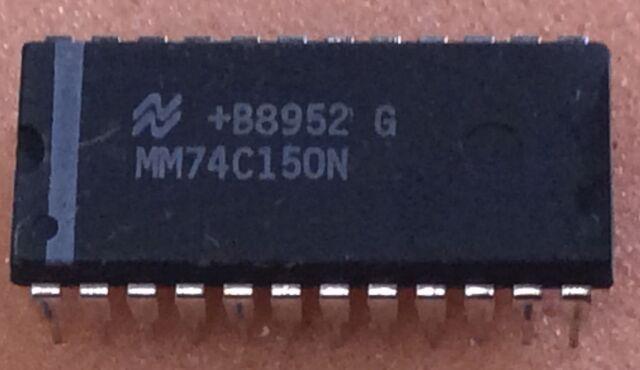 5 pc. MM74C150N  National Semic. 16-Line to 1-Line Multiplexer  DIP24  NOS  #BP