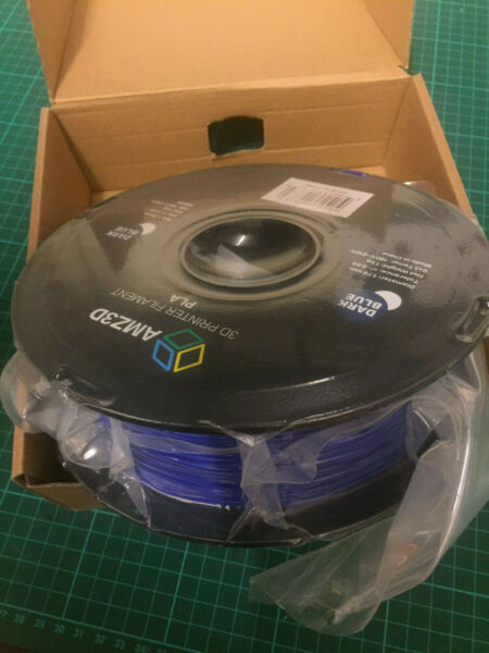 1.75mm Blue Pla 3d Printer Filament - 1kg Spool (2.2 Lbs) Uk Seller Door Wetenschappelijk Proces
