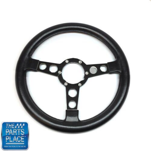1970-81 Firebird Trans Am Formula GTO Steering Wheel Black Spoke Bare