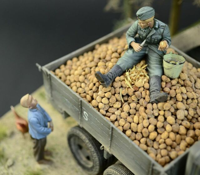 Juweela Potatoes 1:35 scale 70-75g realistic diorama accessories