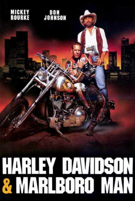 Image result for harley davidson and the marlboro man movie poster