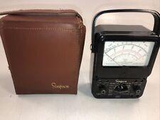 Simpson 260 Series 3 Volt Ohm Milliammeter
