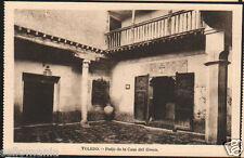 POSTAL DE TOLEDO . PATIO DE LA CASA DE EL GRECO . MIRA MAS EN MI TIENDA CC2704