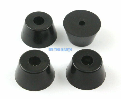8 Pieces 40x30x22mm Rubber Feet Pad Furniture Chair Leg Protector Glide Pad