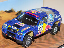 1/43 Minichamps Volkswagen Race Touareg car #307 Red Bull 2005 Dealer Edition