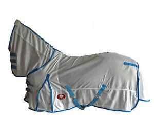 Yimar-4-039-9-034-Soft-Mesh-Fly-Sheet-Horse-Rug-Combo-FT49