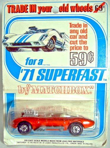 mas barato Matchbox SF nº nº nº 36b draguar rojo con pegatinas en raras  Trade in...  blister 1971  con 60% de descuento