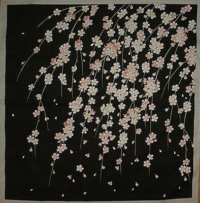 Furoshiki Wrapping Cloth Japanese Gift Fabric 'Weeping Cherry Tree' Cotton 50cm