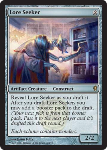 NM Lore Seeker X1 *CCGHouse* Magic Conspiracy MTG 2014