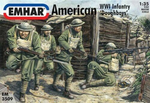 American Infantry Emhar 3509 WWI 1:35 /'Doughboys/'