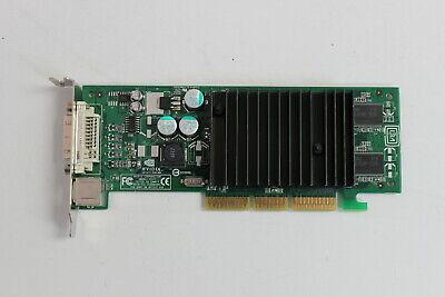 SFF DELL G0771 0G0771 GEFORCE MX440 P117 64MB AGP 8x DVI TV WITH VGA ADAPTER