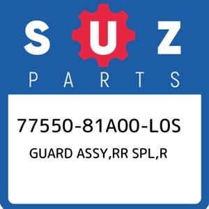77550-81A00-L0S-Suzuki-Guard-assy-rr-spl-r-7755081A00L0S-New-Genuine-OEM-Part
