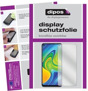 2x-Xiaomi-Redmi-Note-9-Film-de-protection-d-039-ecran-protecteur-clair-dipos