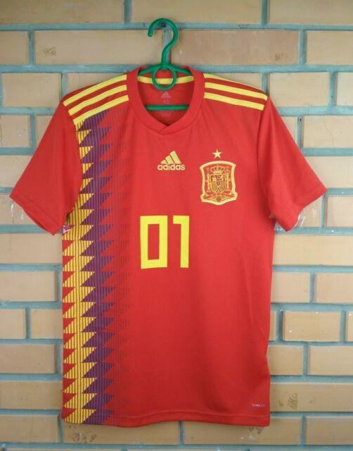 b9728444d70 Spain Jersey Large 2019 Home Shirt CX5355 Soccer Football adidas ...