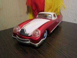 Ein Altes Blechspielzeug-blechauto Coupe 60er-70er Jahre Made In China Jade Weiß Antiquitäten & Kunst Autos & Busse