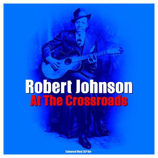Robert Johnson - At The Crossroads (Gatefold 3LP 180g Coloured Vinyl) NEW/SEALED