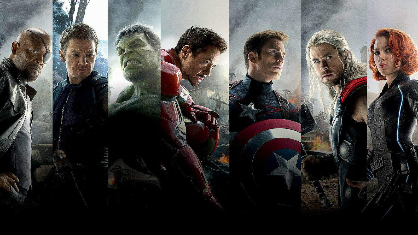 Avengers Age of Ultron Canvas Giclee Print Picture Unframed Wall Art Home Decor