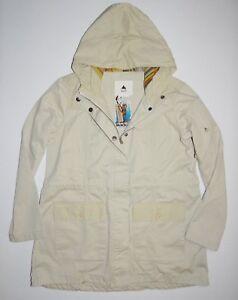 429d2b460a9 New Burton Womens Hazel Snap Up Full Zip Hooded Casual Khaki Cotton ...