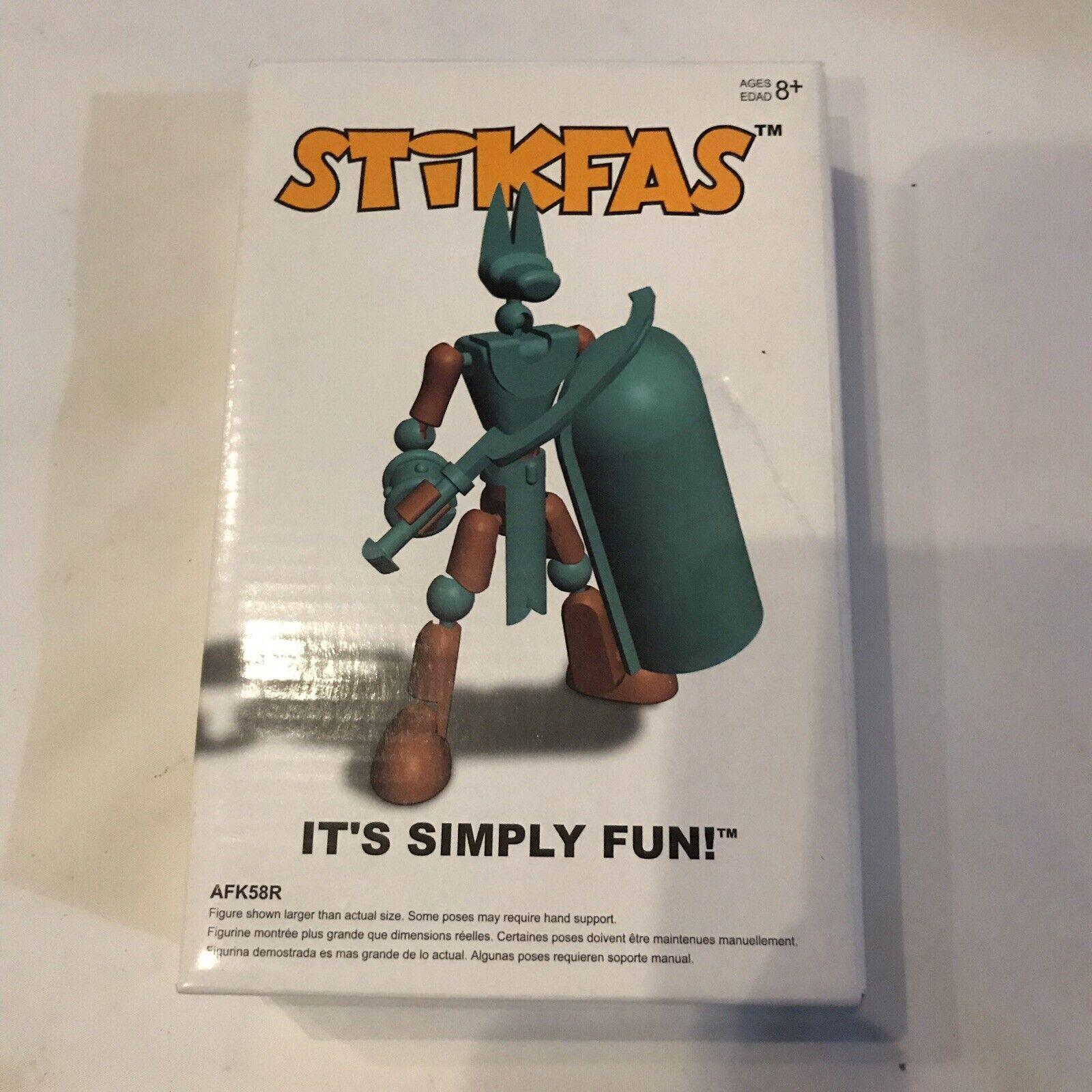 Stikfas G2 Sigma Male Figura de Acción Kit egipcio Hasbro Nuevo Sellado