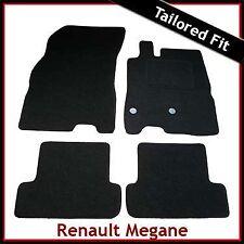Renault Megane Mk3 2008-2016 Tailored Fitted Carpet Car Floor Mats BLACK