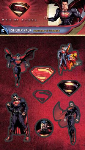 Superman Man of Steel sticker pack