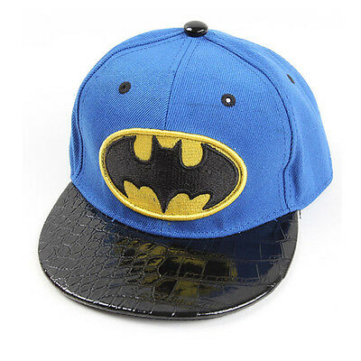 Batman Unisex Baby Kids Adjustable Baseball Cap Boys Girls Hip-Hop Snapback Hat