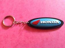 Motorcycle/biker Keychain/keyring Silicone/rubber racing/rally/bike/team/honda