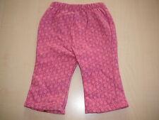 s. Oliver tolle Sweat Hose Gr. 62 rosa mit hübschen Mustern !!